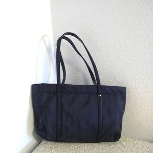 Kate Spade NY Black Nylon Leather Bag